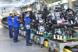 Solid upturn by manufacturing sector