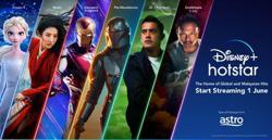 Walt Disney picks Astro for Disney+ Hotstar streaming service