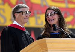 Bill and Melinda Gates: a duo undone