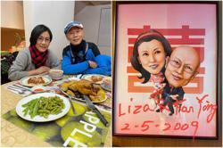 HK celebrity couple Liza Wang & Law Kar Ying celebrate 12th wedding anniversary