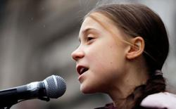 Activist Thunberg says global leaders still in denial over climate