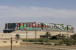 Egyptian court rejects appeal against detention of ship in Suez Canal