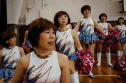Meet Japan's silver-haired cheer-dancing squad