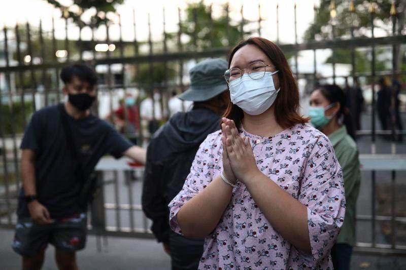 Student Union of Thailand spokesperson Panusaya