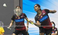 Pearly and Thinaah hope to continue giant-killing acts in Malaysian Open