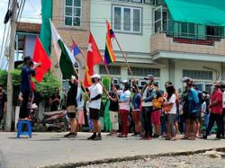 Some 200 rights groups push for U.N. arms embargo on Myanmar