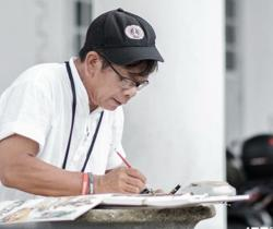 Artist's extraordinary life journal recognised by Malaysia Book of Records