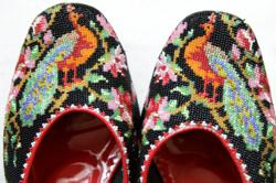 Discover the hidden meanings of Melaka's Nyonya beaded shoes