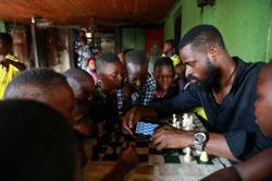 Kings of Lagos: children learn chess to seek escape from Nigeria's slums