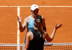 Tennis-Barty gains Badosa revenge to march into maiden Madrid final