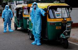 Delhi's popular autorickshaws become COVID-19 ambulances
