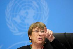U.N. human rights chief sounds alarm on violations in Latin America