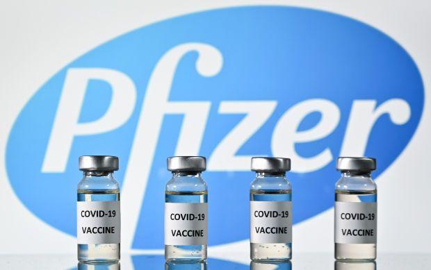 Pfizer Covid-19 vaccine vials