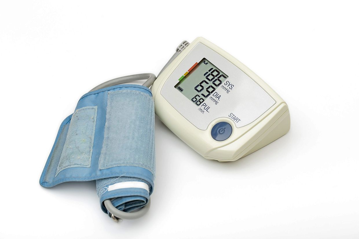Around 30% of Malaysians have high blood pressure, some of whom are unaware they have this 'silent killer'. — Fotolia