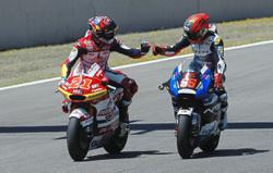 Ride on new bike finally gets smoother for Hafizh after four rounds