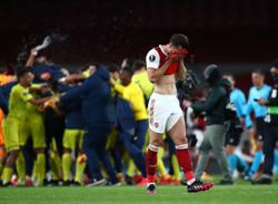 Soccer-Joy for Emery as Villarreal hold Arsenal to reach Europa League final