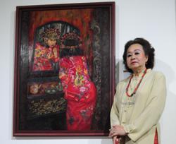 Pioneer Peranakan painter Sylvia Lee Goh dead at 80