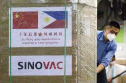 Additional batch of China's Sinovac vaccine arrives in Philippines