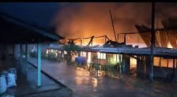 Fire-break saves Kanowit longhouse from being razed