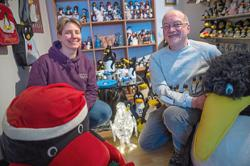 This couple owns over 11,000 penguin-themed items, and they aren't done yet