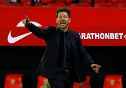 Soccer-Simeone will not change gameplan for Barca showdown