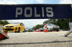 MCO 3.0: Police step up roadblocks in KL, Selangor