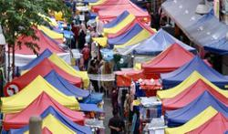 Lack of SOP compliance seen at KL Ramadan bazaar