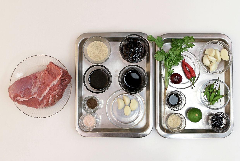 The ingredients for 'daging hairmau menangis'. — Photos: YAP CHEE HONG/The Star