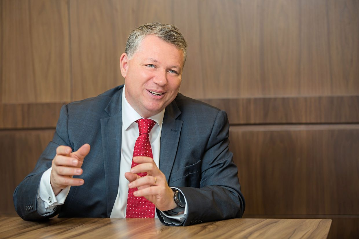 """CTOS group CEO Dennis Martin: """"The credit reporting industry has high barriers to entry and a key barrier is the access to credit profiles, which we have built over three decades."""""""