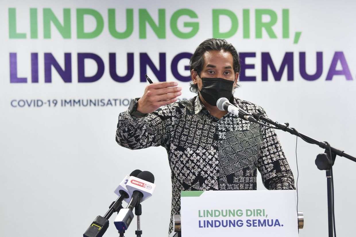 Khairy: Premises listed under HIDE are not Covid-19 clusters