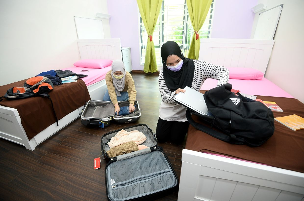 Safety and SOP first as varsity students return to hometowns