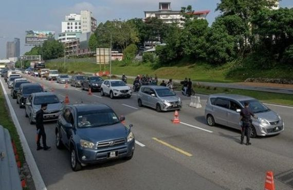 Congestion on Federal Highway, MCO roadblocks in place