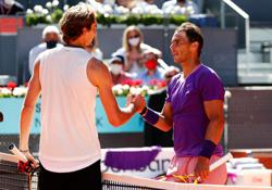 Tennis-Nadal defeated by Zverev in Madrid Open quarters
