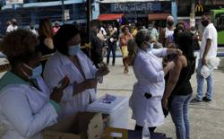 Brazil welcomes U.S. call for talks on vaccine patents