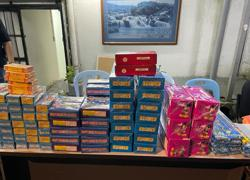 Police Covid-19 compliance team nab man with RM10,000 worth of fireworks