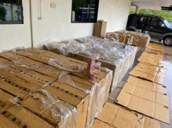 GOF seizes over RM1mil worth of fireworks, illicit cigs in Johor raids