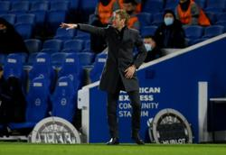 Soccer-Potter says focused on Brighton job amid links to Spurs
