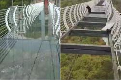 Tourist stranded on glass bridge triggers safety concerns