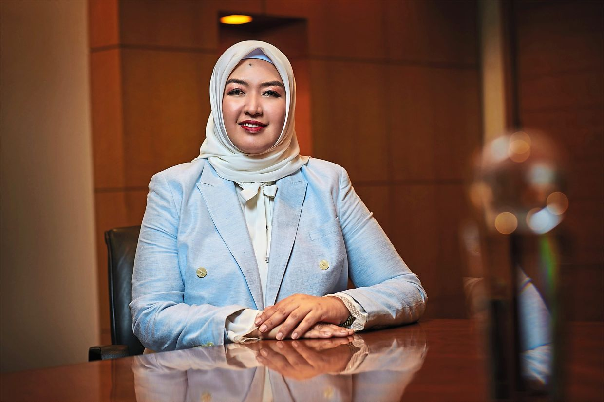Munirah hopes that easy-to-use digital tools will lead Malaysians to greater financial literacy. — Principal Asset Management