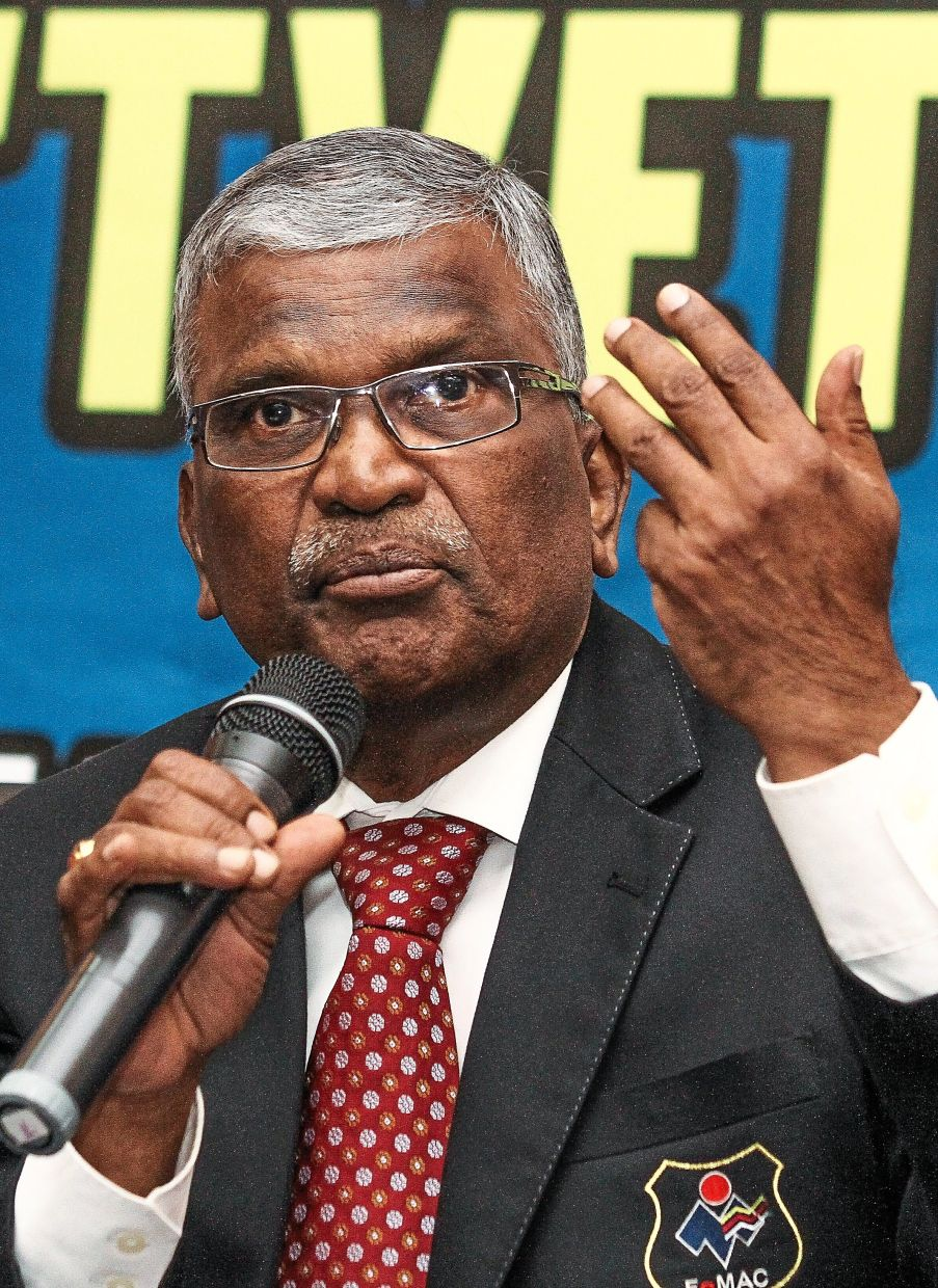 Sailanathan: Private TVET institutions are urged to digitalise but we lack the funds to do so.