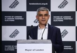 Labour's Sadiq Khan re-elected London mayor