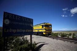 Chile-Bolivia train route being re-established after 16 years