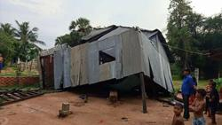 Powerful storms batter Cambodia