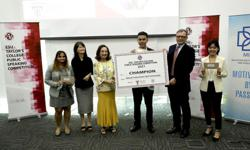 Pavit Coran to represent Malaysia at virtual ESU international public speaking competition
