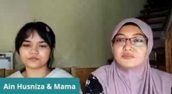 Believe in your children, says Ain Husniza's mother