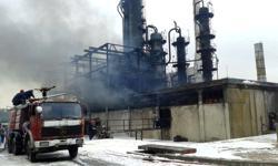 Fire breaks out on tanker near Syrian coast