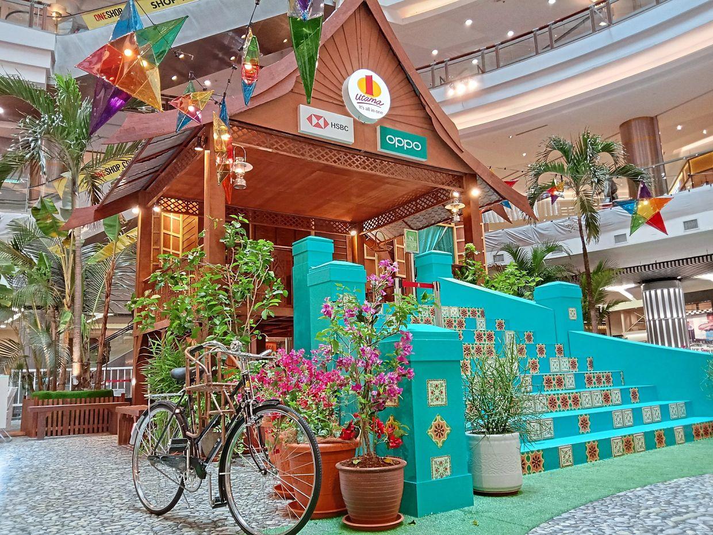 The life-size Malay kampung house at 1 Utama Shopping Centre.