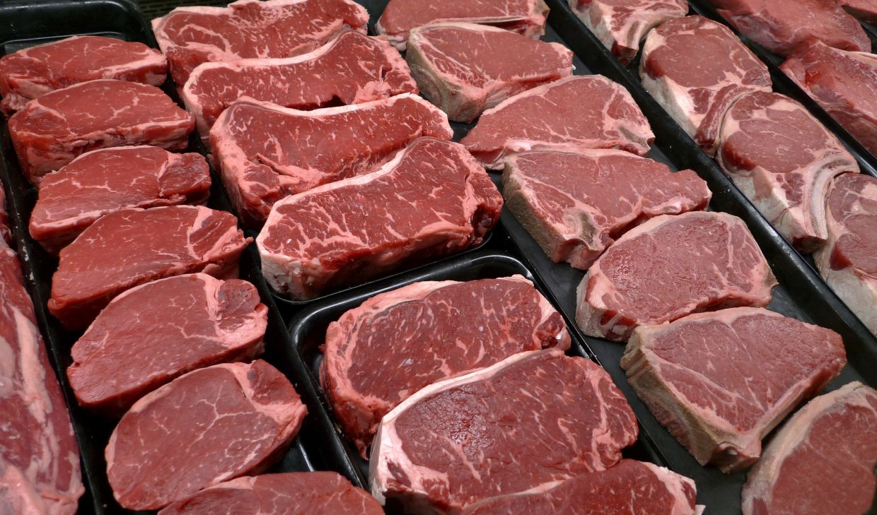 Reducing one's meat intake is good for the environment and great for the health. Photo: AP