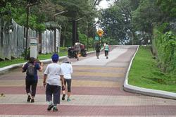 Fewer people seen enjoying fresh air at public parks