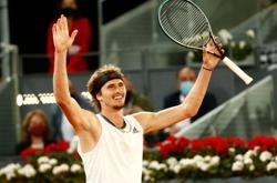 Tennis-Zverev downs Berrettini to clinch second Madrid crown